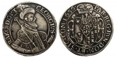 II.Rákóczi György tallér 1656 NB.