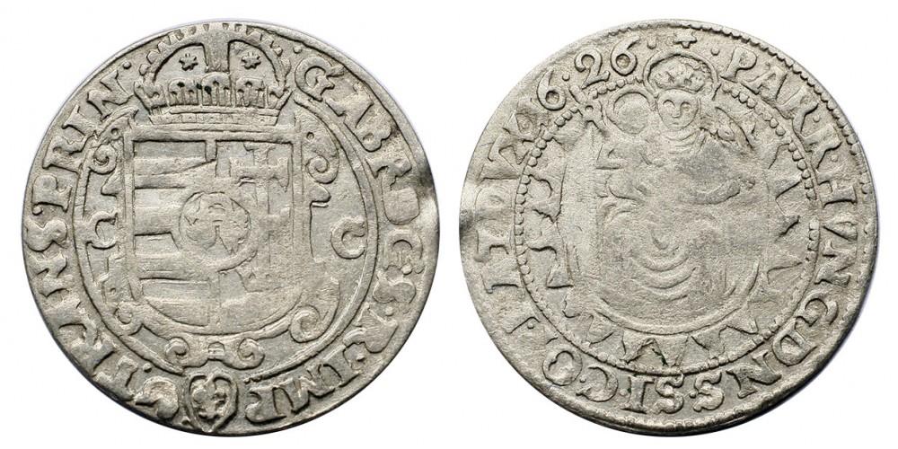 Bethlen Gábor széles garas 1626 CC