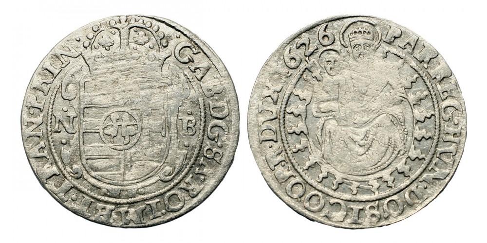 Bethlen Gábor széles garas 1626 NB.