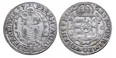 Bethlen Gábor széles garas 1627 M-C