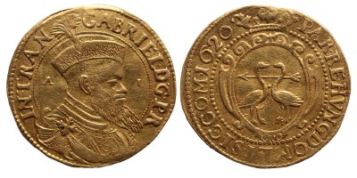 Erdély Bethlen Gábor (1613-1620) arany forint A-I RR!
