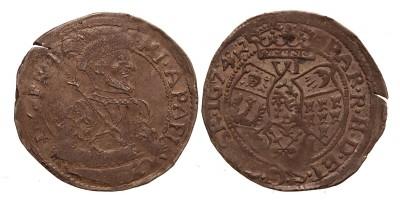 Erdély Apafi Mihály VI denáros garas 1674