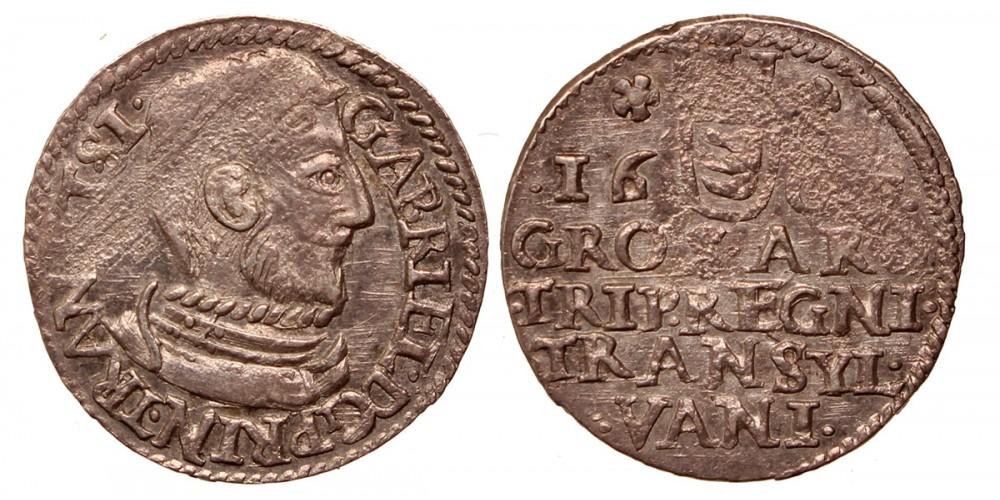 Erdély Báthory Gábor 3 garas 1609