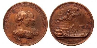 Mária Terézia erdély emlékérem 1769