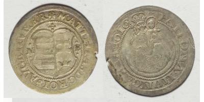 II. Mátyás garas 1616 NB
