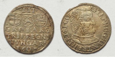 Bocskai István ezüst 3 garas (dutka) 1605