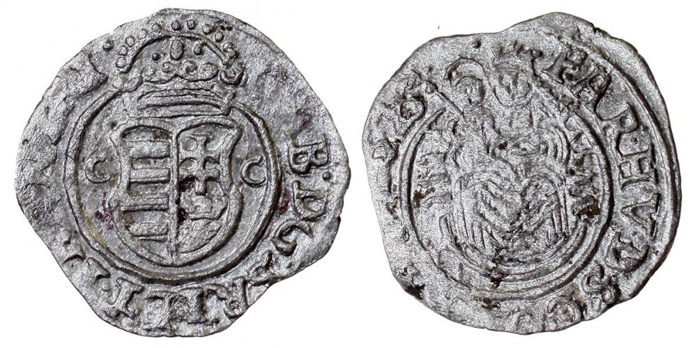 Erdély Bethlen Gábor denár 1626 CC