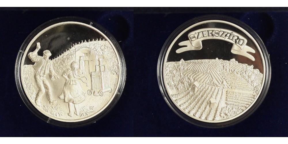 Szekszárdi borvidék ezüst emlékérem