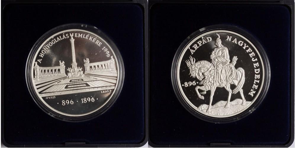 Millecentenárium 896-1996 érem PP