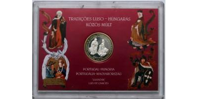 Magyarország a Liszaboni expón 1998 ezüst érem.