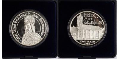 Szent László,Nagyvárad  ezüst érem 1995