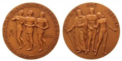 A magyarországi szabadkőművesség 200 éves fennállása emlékére 1949 emlékérem