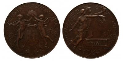 1896-iki Ezredéves Országos Kiállítás díjérem