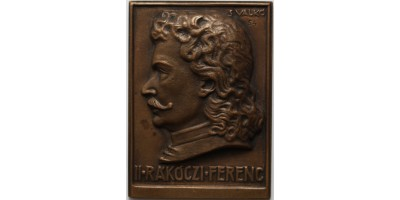 II. Rákóczi Ferenc emlékplakett