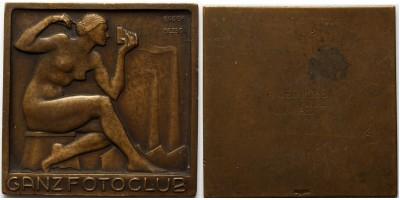 Ganz Fotoklub díjérem 1941