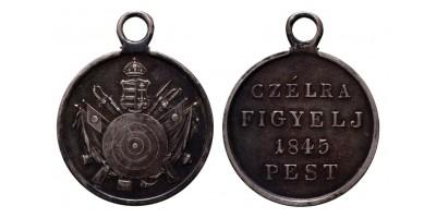 Lövész érem 1845 Pest R!