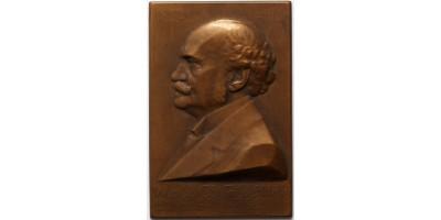 Wlassics Gyula - A M. Kir. Közigazgatási Bíróság 1912 emlékplakett