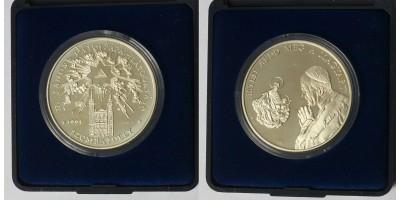 Pápalátogatás Szombathely ezüst érem 1991