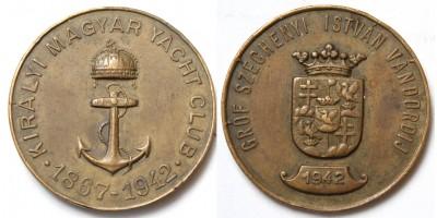 KMYC Királyi Magyar Yacht Club Gróf Széchenyi István vándordíj 1942 R!