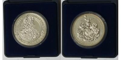 Debrecen város 300.évforduló ezüst emlékérem 1993
