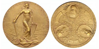 Tiroli szabadságharc 1813-1913, Andreas Hofer, Schwarzenberg, Erzherzog Karl érem
