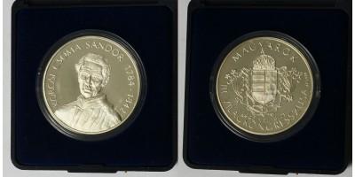 Kőrösi Csoma Sándor ezüst érem 1992
