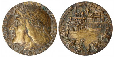Mátyás király 1440-1940 emlékérem