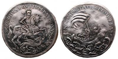 Saint George Millenium thaler 1896 RRR!