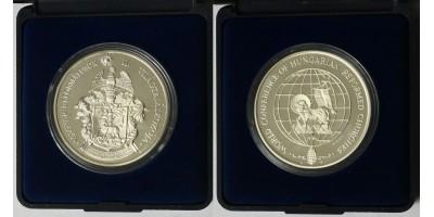 II.Magyar Református világtalálkozó ezüst érem 1991