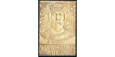 Szent István ezüst plakett