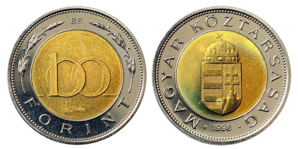 100 forint 1998 UNC