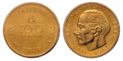 Bartók Béla 100 forint 1961