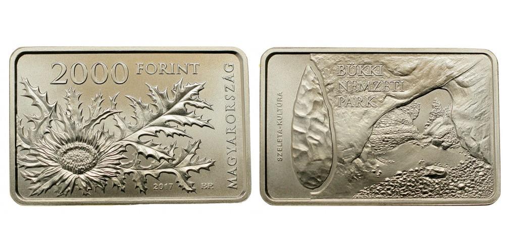 2000 forint Bükki Nemzeti Park 2017