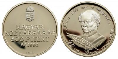 500 forint Kölcsey Ferenc 1990 PP