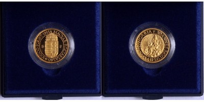 10000 forint Pápa látogatás Magyarországon 1991 PP