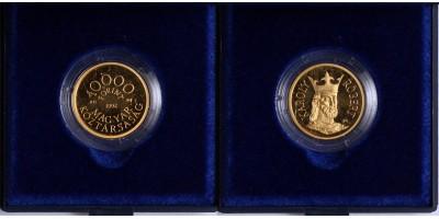 Károly Róbert 10000 forint 1992 PP