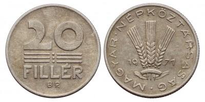 20 fillér 1971