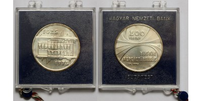 200 forint Magyar Tudományos Akadémia 1975  BU