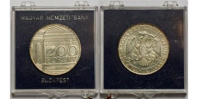 200 forint Nemzeti Múzeum 1977 BU