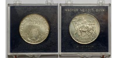 200 forint Rákóczi Ferenc 1976 BU