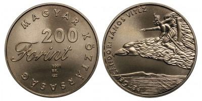 200 forint János Vitéz 2001 BU