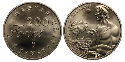 200 forint Ludas Matyi 2001 BU