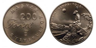 200 forint Toldi 2001 BU
