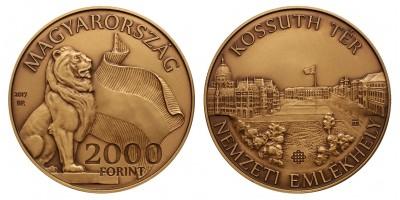 2000 forint Kossuth Tér 2017 BU