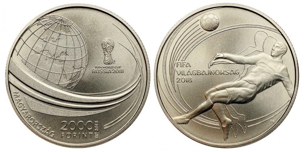 2000 forint Labdarúgó Világbajnokság 2018 BU