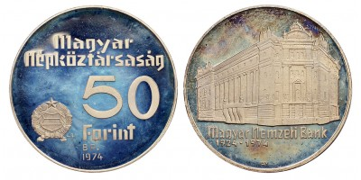 Nemzeti bank  50-100 forint 1974 PP