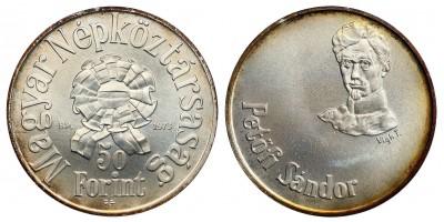 Petőfi 50-100 Forint 1973 BU