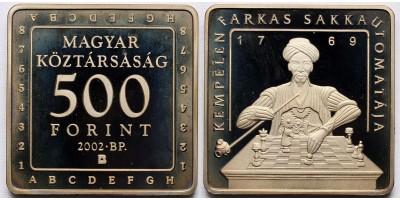 500 forint sakk 2002 PP