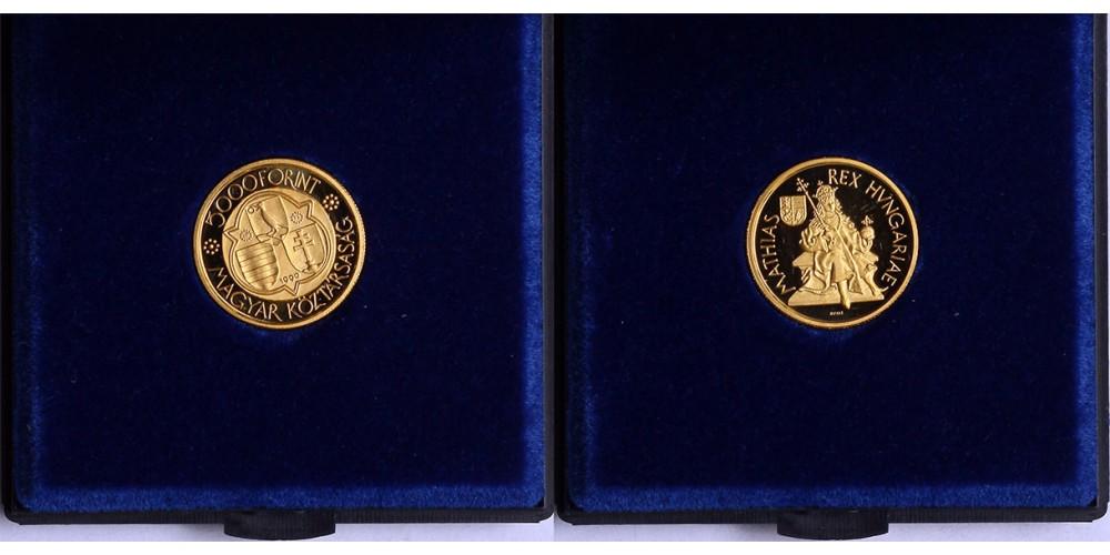 Mátyás király 5000 forint 1990 PP