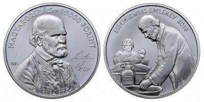 10000 forint Semmelweis Ignác  2018 PP